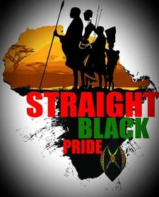 Straight Black Pride Movement (SBPM) logo