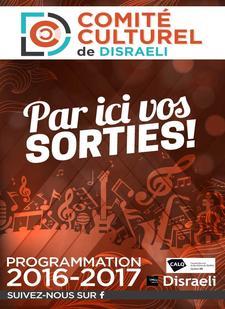 Comité Culturel Disraeli logo