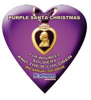 3rd Annual Purple Santa Toy Drive