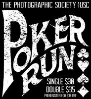 Poker Run Presented by The Photographic Society at USC