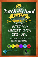 Back To School Bar Hop