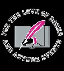 For the Love of Books & Author Events logo