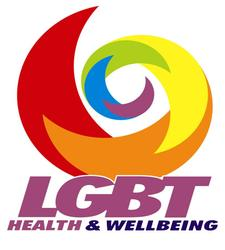 Alison Wren for LGBT Health and Wellbeing logo