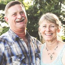 Sandy & Norm Sutter, Young Living Gold Leaders logo