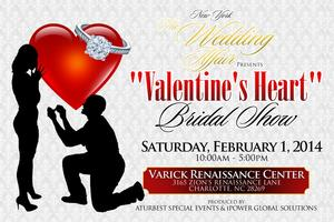 "NY ""The Wedding Affair"" Valentine's Heart Bridal Show"