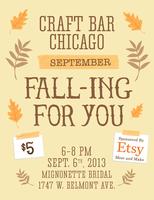 Craft Bar Chicago and Etsy Meet & Make Present...