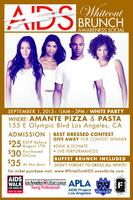 AIDS White Out Brunch Awareness Social