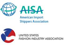U.S. Fashion Industry Association (USFIA) & American Import Shippers Association (AISA) logo