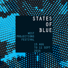 States of Blue: West Projections Festival logo