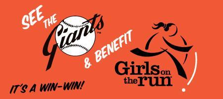 Giants Game with Girls on the Run