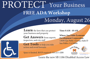 ADA Workshop on Disabled Access Law