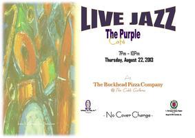 LIVE Jazz @ The Purple Cafe