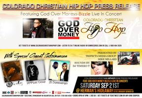 CCHH PRESS RELEASE FEAT: God Over Money - BIZZLE (live...