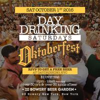 OKTOBERFEST: FIRST BEER FREE! on Peter's list