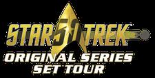 Star Trek Original Series Set Tour logo