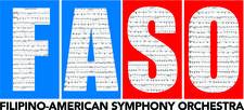 Filipino American Symphony Orchestra (FASO) logo