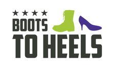 Attitudes and Attire® Boots to Heels Program logo