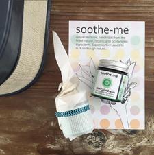 Soothe-me Artisan Organic Skincare logo