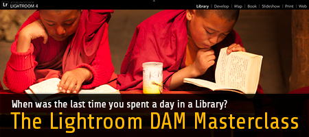 The Lightroom DAM Masterclass 2014