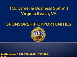 Become a Sponsor for the 2016 TCE Career & Biz Summit...