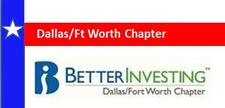 Dallas/Ft Worth Chapter BetterInvesting logo