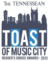 Toast of Music City Reader's Choice Awards