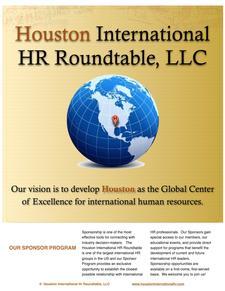 Houston International HR Roundtable logo