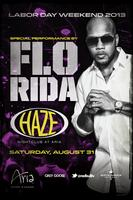 Flo Rida Performs Live Labor Day Weekend @ HAZE...
