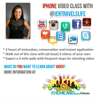iPhone Video Workshop with @JenTravelsLife #QuickStart...