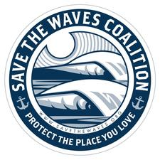 Save The Waves Coalition  logo