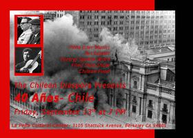 40 Años - The Bay Area Remembers Chile 9.11.73 -...