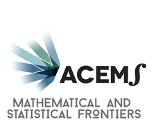 ARC Centre of Excellence for Mathematical & Statistical Frontiers logo