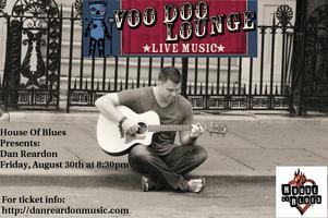 Dan Reardon Live @ House of Blues - Voodoo Lounge...