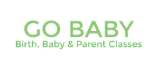 Childbirth Classes, Baby & Parent Classes, Mommy & Me and Toddler & Me Groups - Go Baby logo
