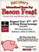 Bacon! Beer! Tasting! All You Can Eat/Drink!