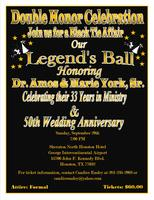 Dr. Amos & Marie York, Sr. Legend's Ball