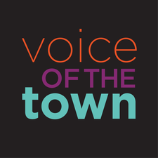 Voice of the Town logo