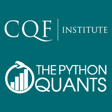 CQF Institute and The Python Quants logo