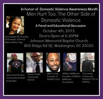 Men Hurt Too: The Otherside of Domestic Violence