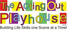 The Acting Out Playhouse logo