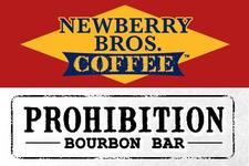 Newberry Bros. Coffee & Prohibition Bourbon Bar logo