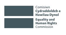 Comisiwn Cydraddoldeb a Hawliau Dynol yng Nghymru = Equality and Human Rights Commission in Wales logo