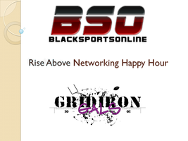 BSO and Gridiron Gals Presents: The Rise Above...