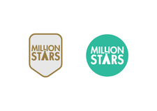 Million Stars (Part of Bang the Drum CIC) logo