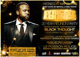 LYRICIST LOUNGE 20 YEAR REUNION PARTY HOSTED &...