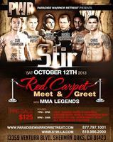 Meet & Greet/ MMA Legends @ Stir Restaurant & Lounge
