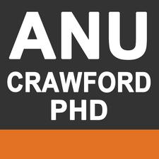 ANU Crawford PhD logo
