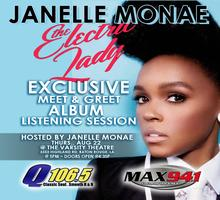 Janelle Monae CD Listening Party/Meet & Greet