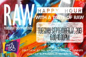 RAW Artist Happy Hour with a Taste of RAW!