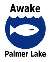 Awake Palmer Lake logo